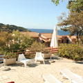 Villa Europa Relax areas and parking - Elba Island 12