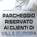 Villa Europa Relax areas and parking - Elba Island 15